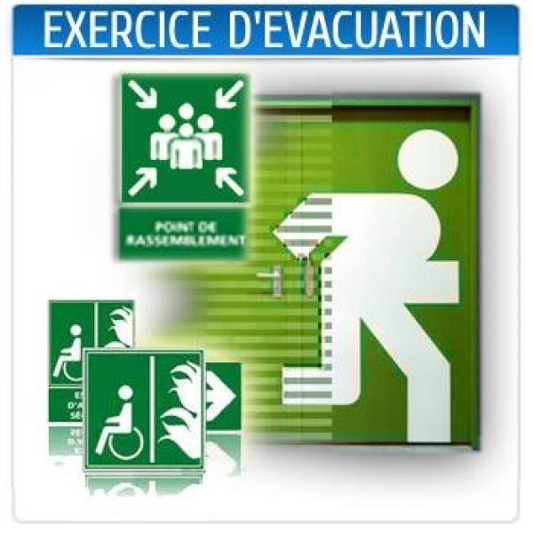 Exercice d' Evacuation
